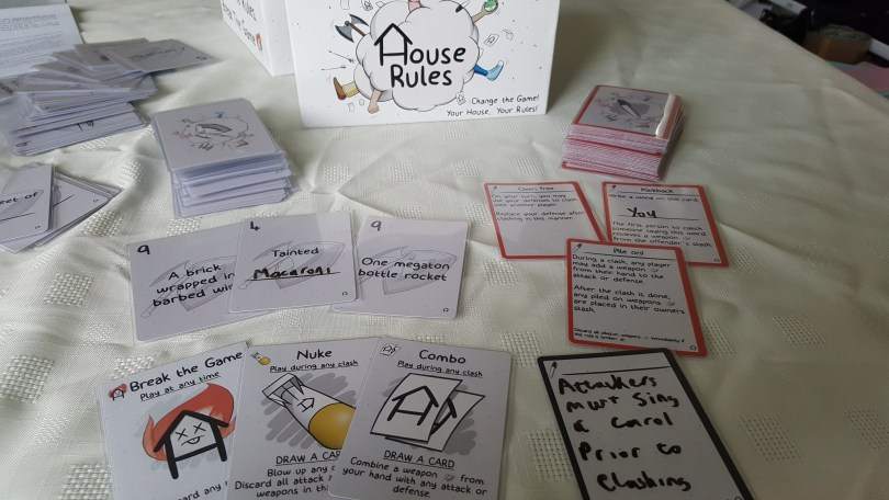 House rules game