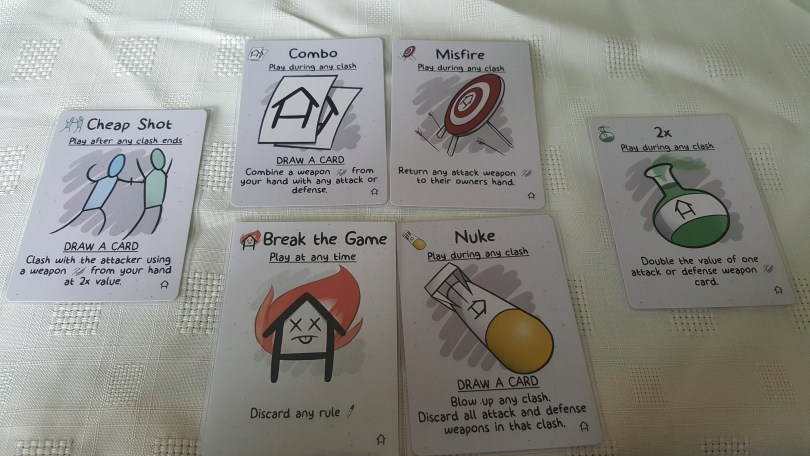 house rules special cards