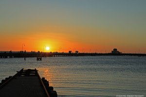 Think of a Perfect Sunset at St Kilda Pier