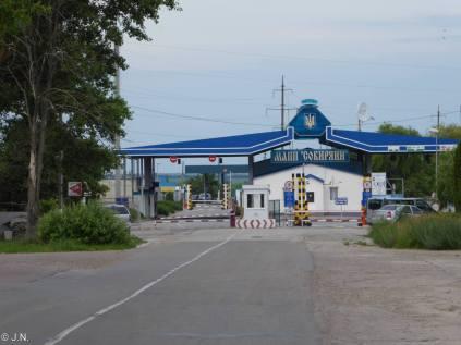 Ukrainian-Moldovan border