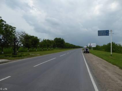 Road out of Rybnitsa