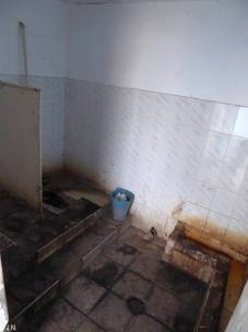 Toilet at Khmelnistky train station - dirtier than in the commuter trains