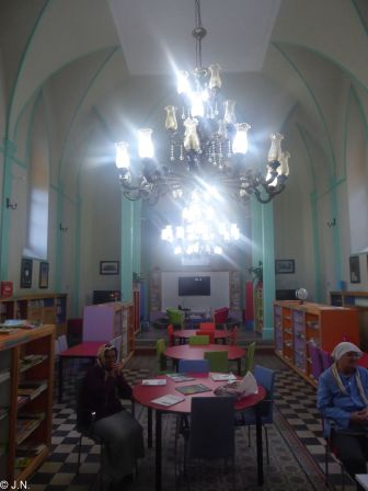 Former church in Giresun - now library
