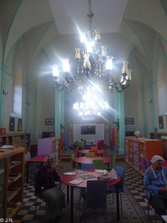 Former church in Giresun - now library
