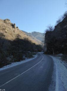 Road to Sümela Monastery