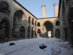 Courtyard of Çifte Minareli Medrese