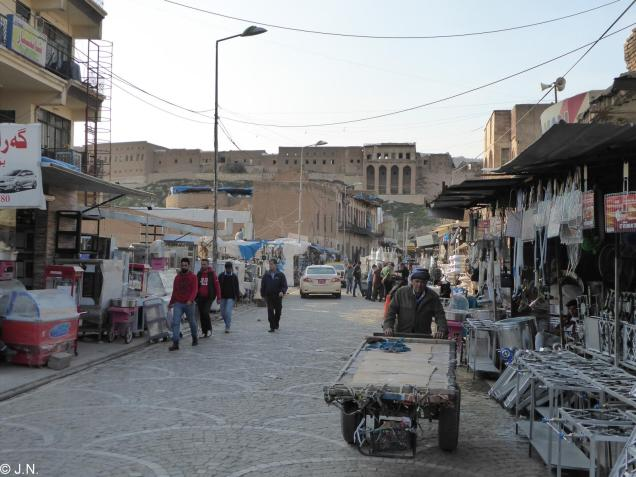 Bazar around the citadel