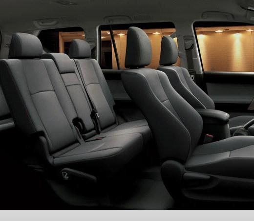 2013-Prado-Car-model-interior-gray-color-leather-seats picture