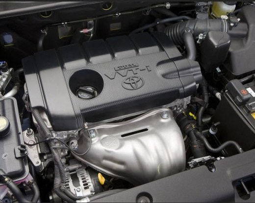Toyota Rav4-2013 Engine Specification Picture