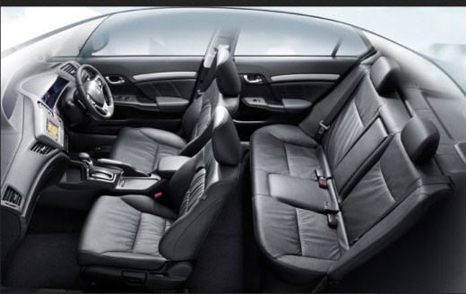 2013-Honda-Civic-Interior-Picture-back-leather-seats