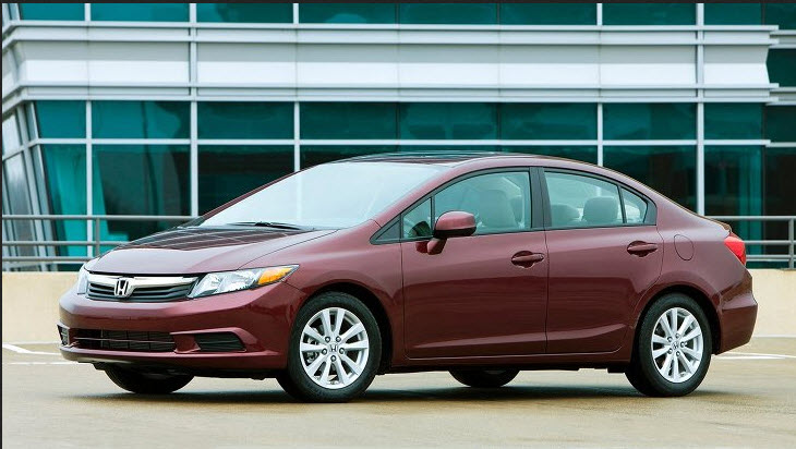 Elegant Honda Civic 2013 2014  Available Color By Company