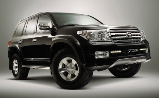 Land-Cruiser-Model-2013-Xtreme-edition-picture in black color