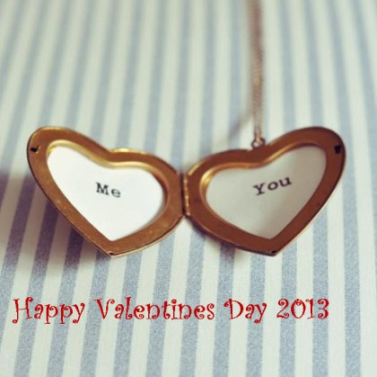 Love-heart valentine day 2013 greeting cards