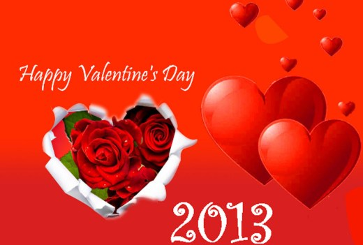 Red-heart-romantic-picture for valentine day 2013