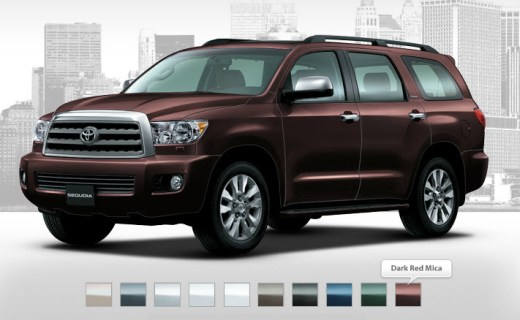 Toyota-2013-Sequoia-Car-Model-Color-in-market-by-company