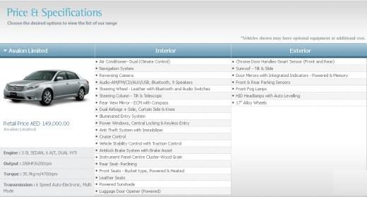 Toyota-Avalon-2013-Price-and-Specification-in-USA-Dubai-India-Pakistan