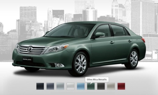 Toyota-Avalon2013-Olive-Mica-Metallic-best Color-Picture