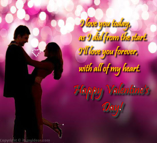 Valentine\'s Day 2013 Romantic couple pics | ItsMyideas : Great ...
