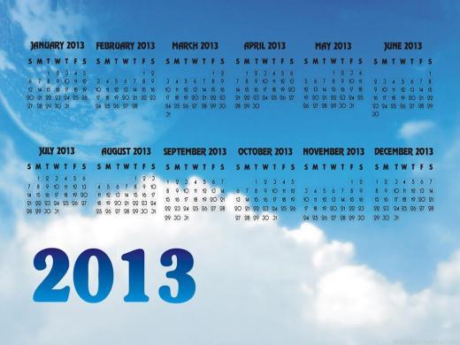 latest 2013-Calendardesktop wallpaper