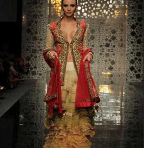 Manish-Malhotra Party Dress with price 2013 2014 for girls