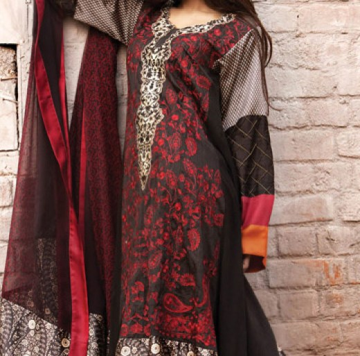 latest sana safina lawn collection 2013 2014