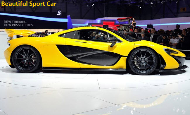 Beautiful Yellow Color Sports Car Wallpaper 2013 2014