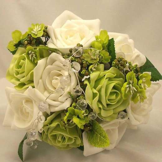 beautiful-green-white-rose-flower-picture 2013 2014