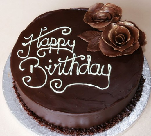 Stylish-chocolate-Cake-for-birthday