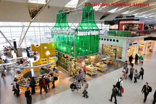 World-most-beautiful-airport-picture-Amsterdam Schiphol Airport-2013 2014