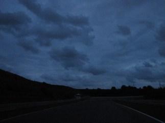 Het was donker, maar zo mooi.