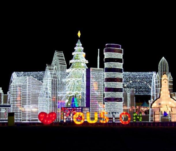 best christmas lights houston