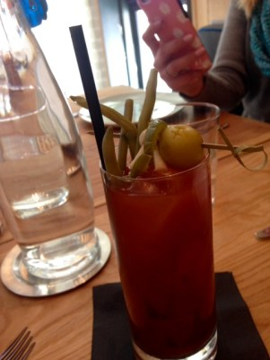 Bernadine's brunch Bloody Mary