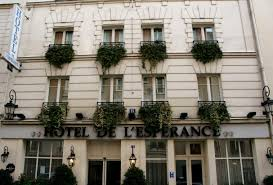 Hôtel de l'Espérance - from the website. How did I not take a picture of this cute place?!