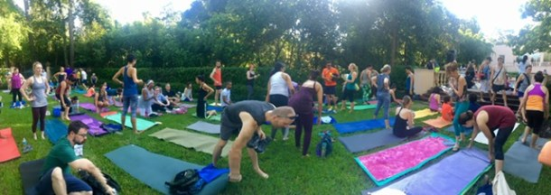 breakfast yoga club houston
