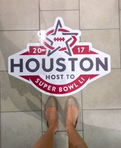 Houston Super Bowl Host Committee Volunteer