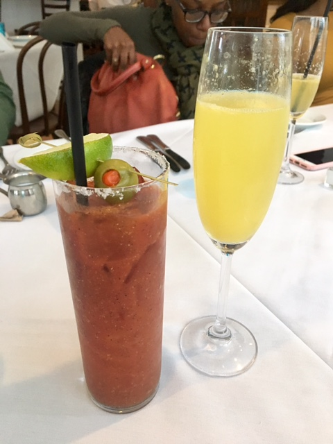 cafe azur houston brunch menu