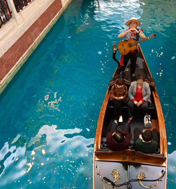 The Venetian Gondola Macau China Casino Travel