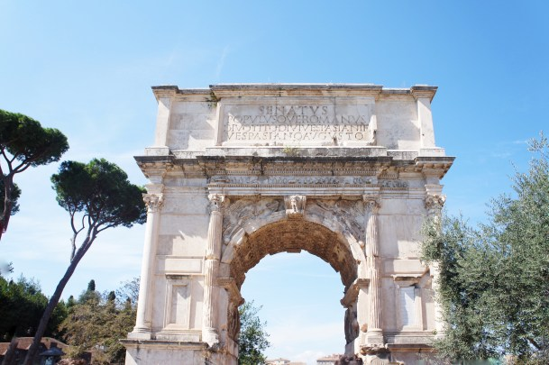 Arch of Titus of Rome