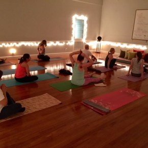 Breaking Out of Studios at East Side Vibes Yoga