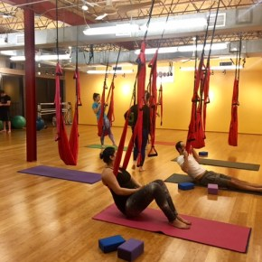 Turn Your Yoga Practice Upside Down with Aerial Yoga at Your Body Center