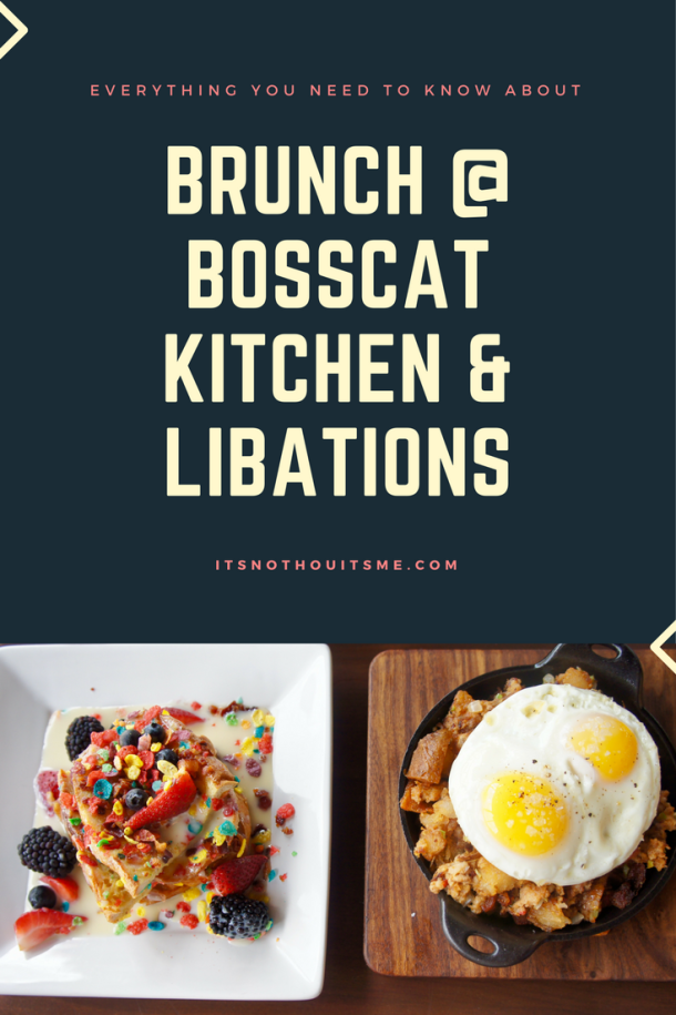 Brunch at Bosscat Kitchen in Houston // itsnothouitsme.com
