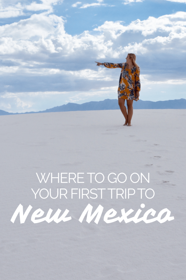 White Sands National Monument, the world's longest and highest zip line, green chili everything and more. // itsnothouitsme.com