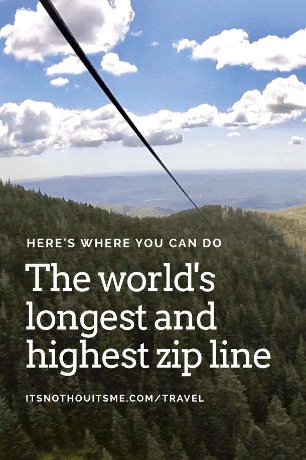11,000 feet above sea level and across 8,000 feet — it's a thrill and a must-do when in New Mexico.