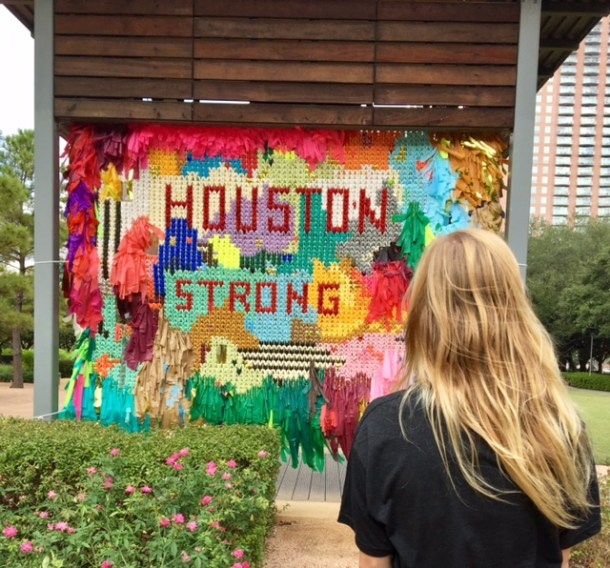 Houston Strong Color Condition Discovery Green