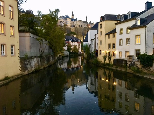 grund luxembourg fall autumn