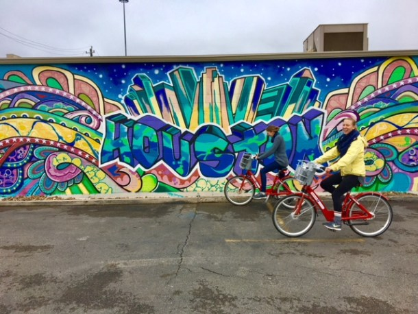 Houston BCycle Mural Tour
