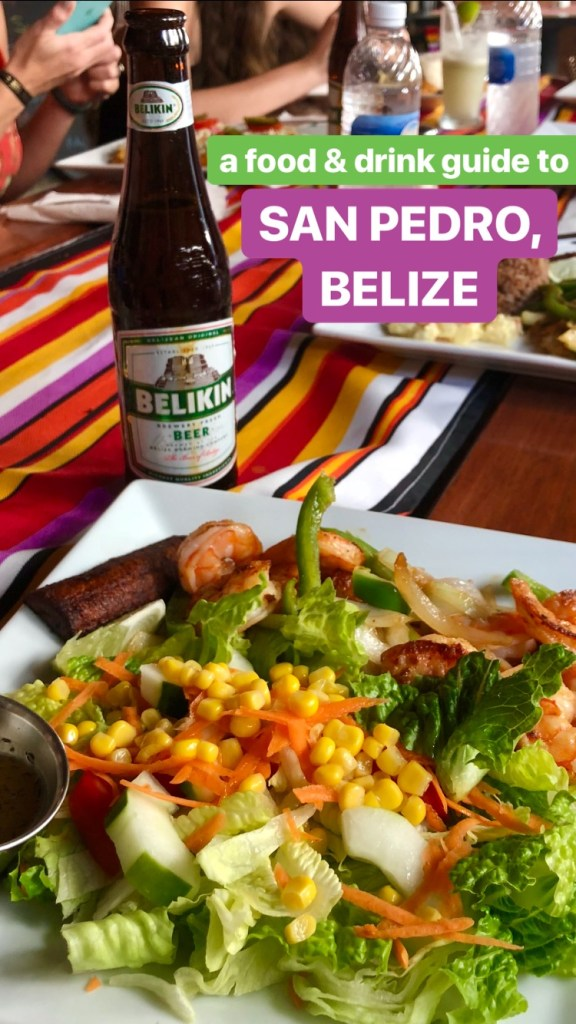 San Pedro, Belize, Food and Drink Guide // itsnothouitsme.com