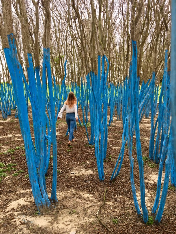 blue trees houston waugh memorial
