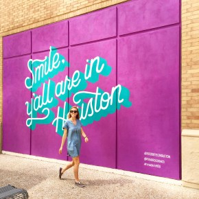 NEW! Pandr Murals Celebrating Houston Brightens Up Downtown
