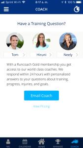 running with runcoach houston